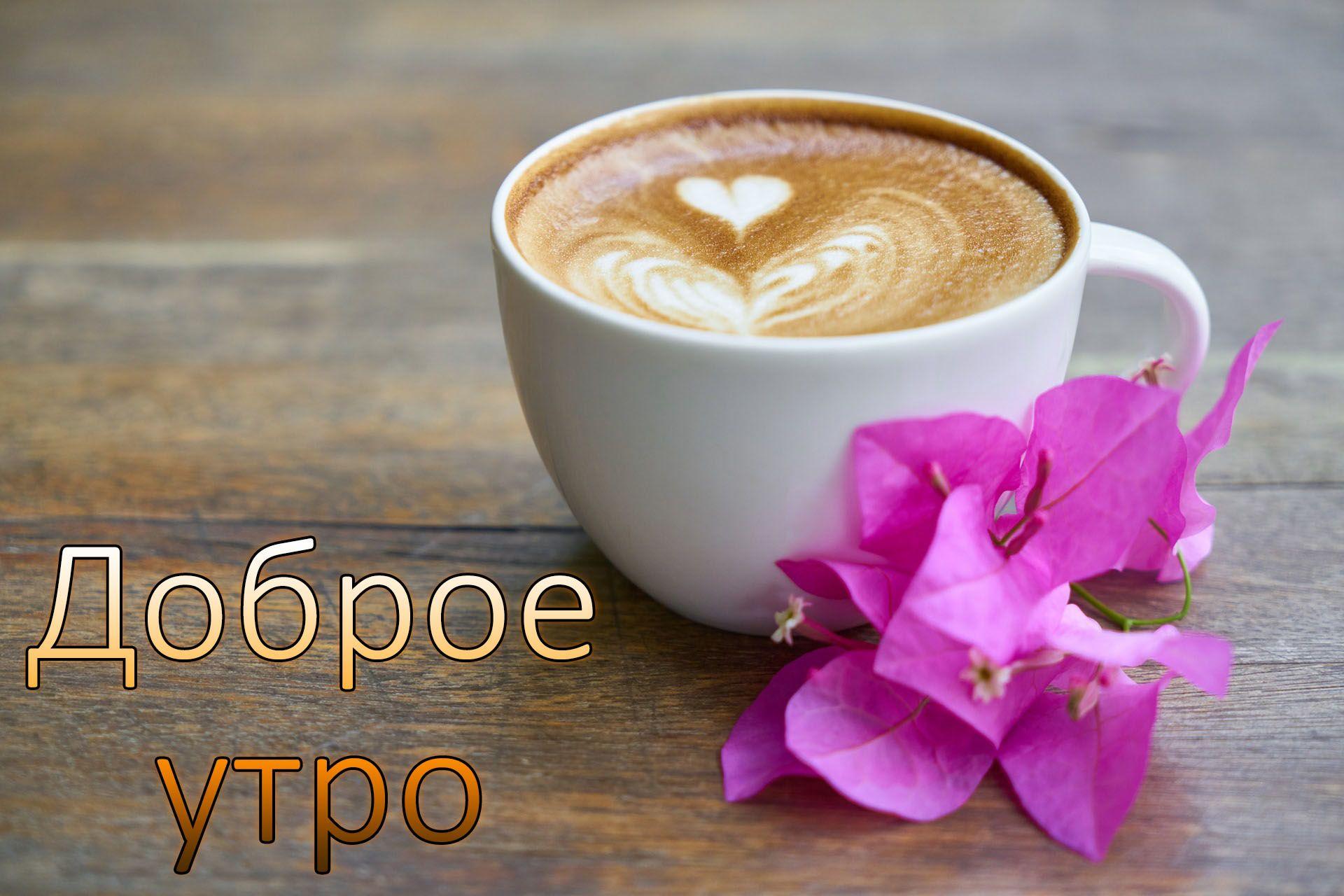 Доброе утро, хорошего настроения любимая