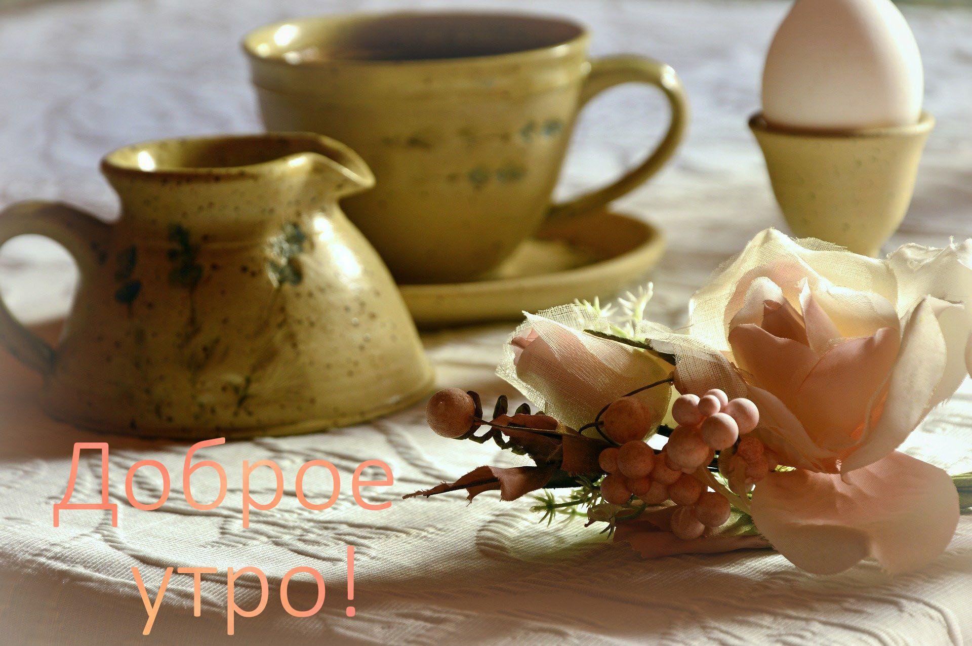 Самое красивое 'Доброе утро' любимая
