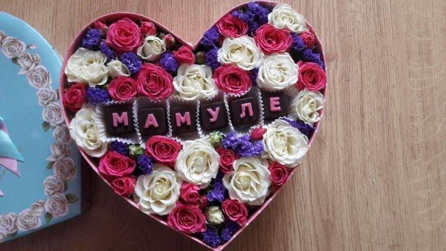 Подарок маме своими руками