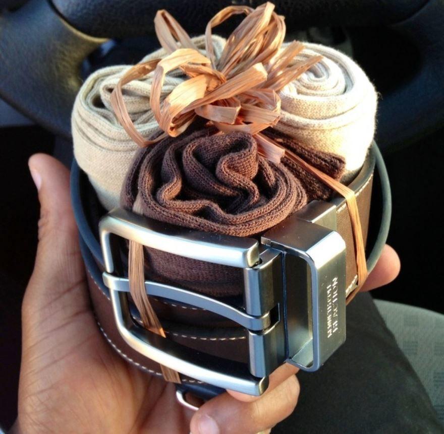 Оригинальный подарок мужу своими руками