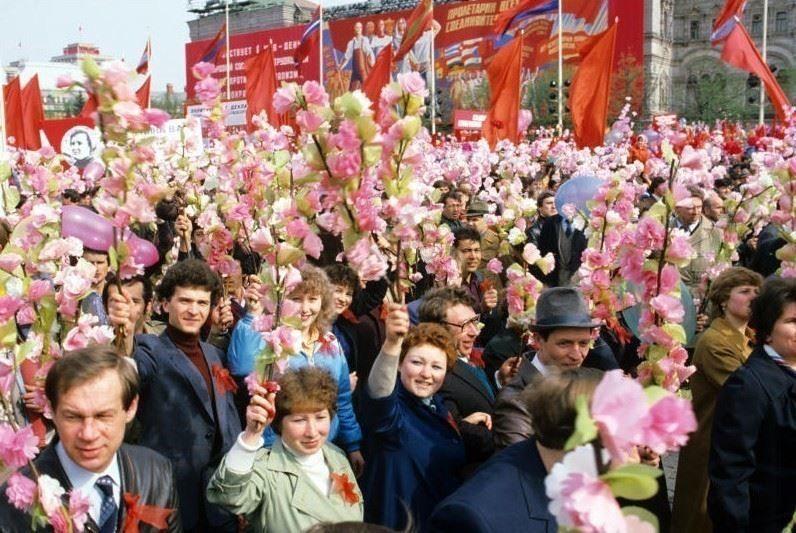 Шествие 1 мая фото