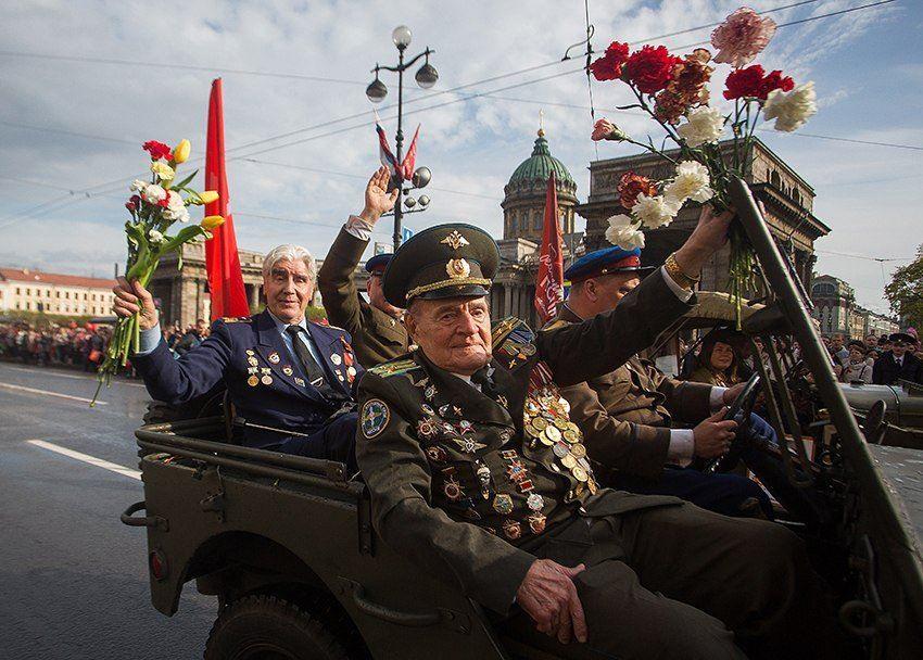 Фото парада 9 мая