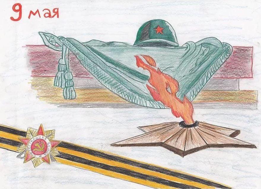 Рисунки на 9 мая День Победы трогательные