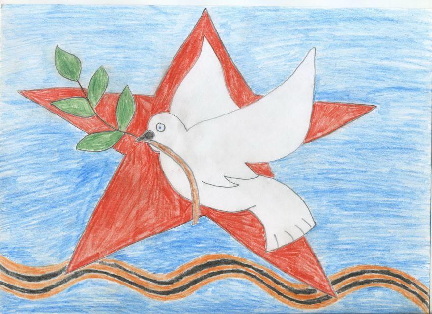 Рисунок на 9 мая День Победы карандашом