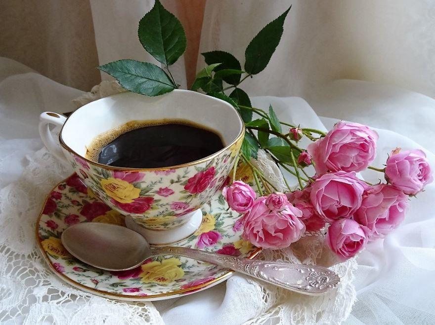 Открытка доброго утра, прекрасного настроения