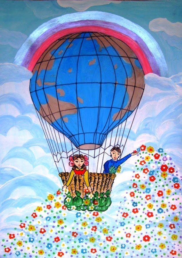 Рисунок к 1 июня день защиты детей