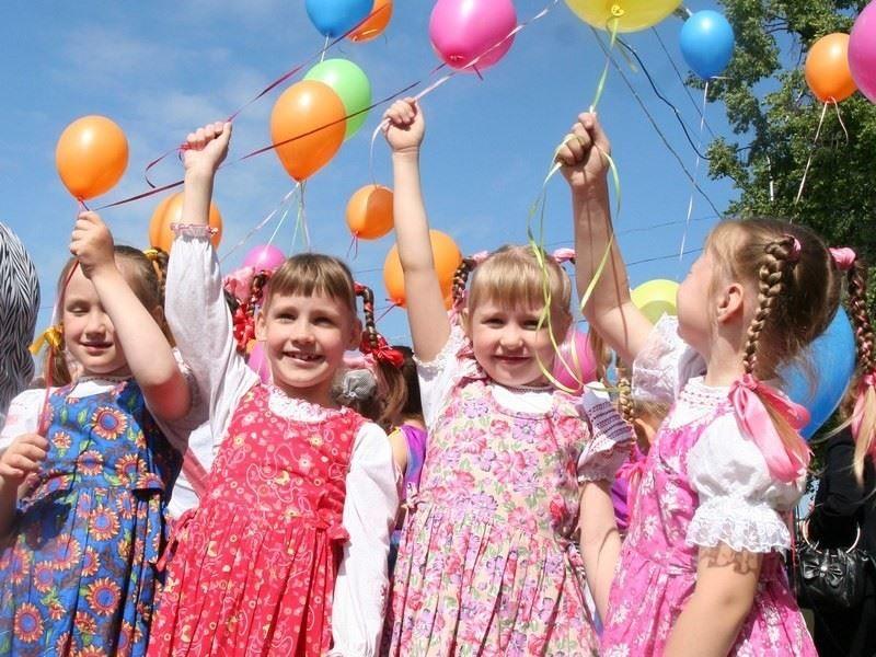 Красивое фото на день защиты детей - 1 июня