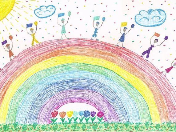 Рисунки карандашом на 1 июня день защиты детей