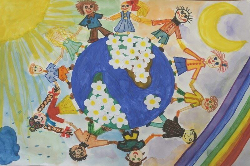 Рисунки 1 июня международный день защиты детей