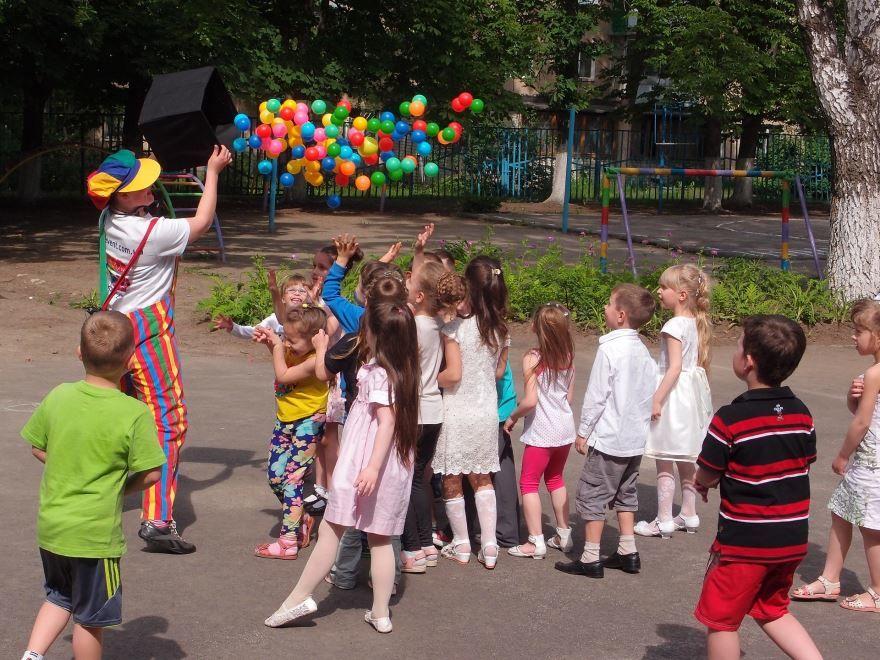 Праздник 1 июня в детском саду