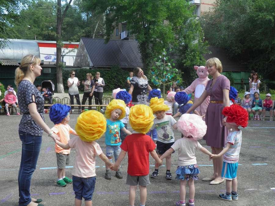 Развлечение 1 июня в детском саду