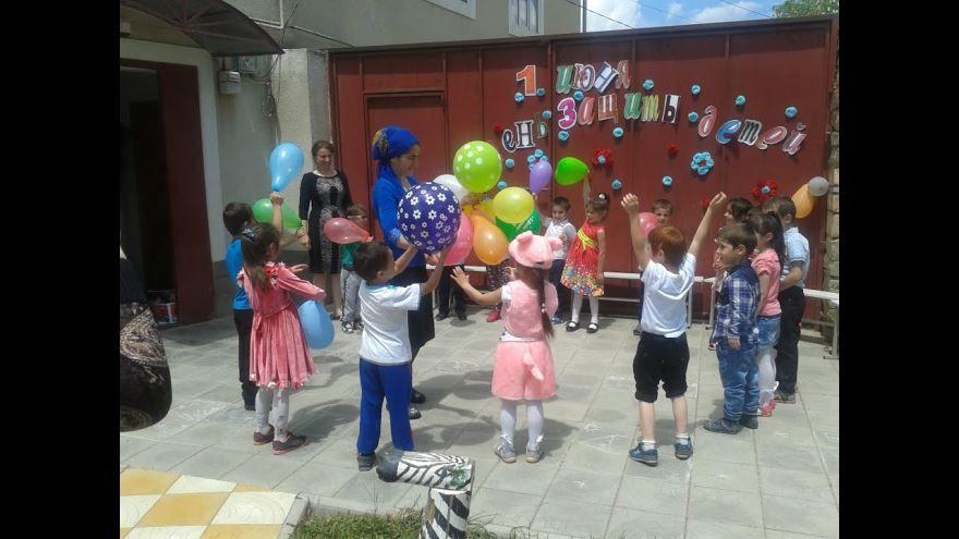 Оформление на 1 июня в детском саду