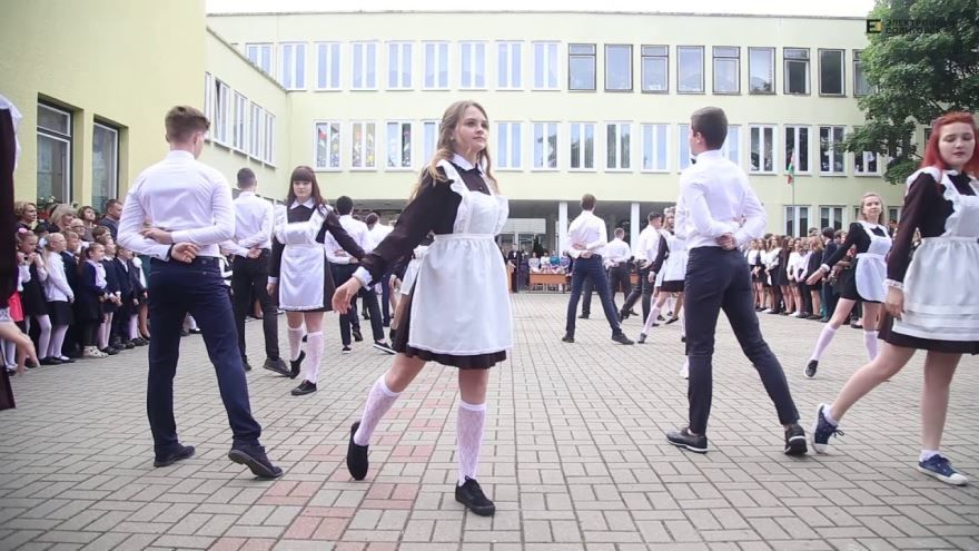 Фото школьный вальс на последний звонок