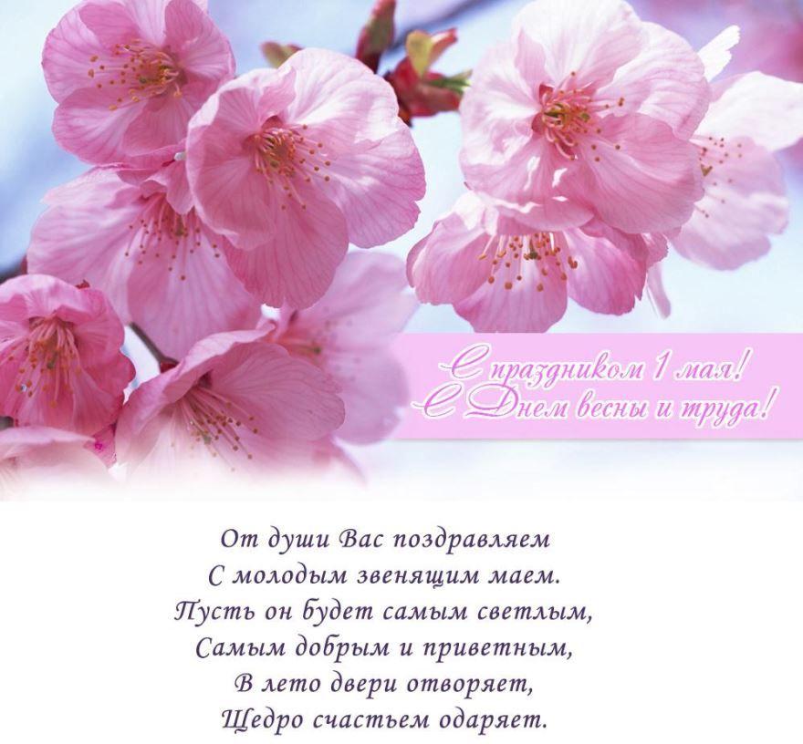Поздравления с 1 мая короткие, красивые