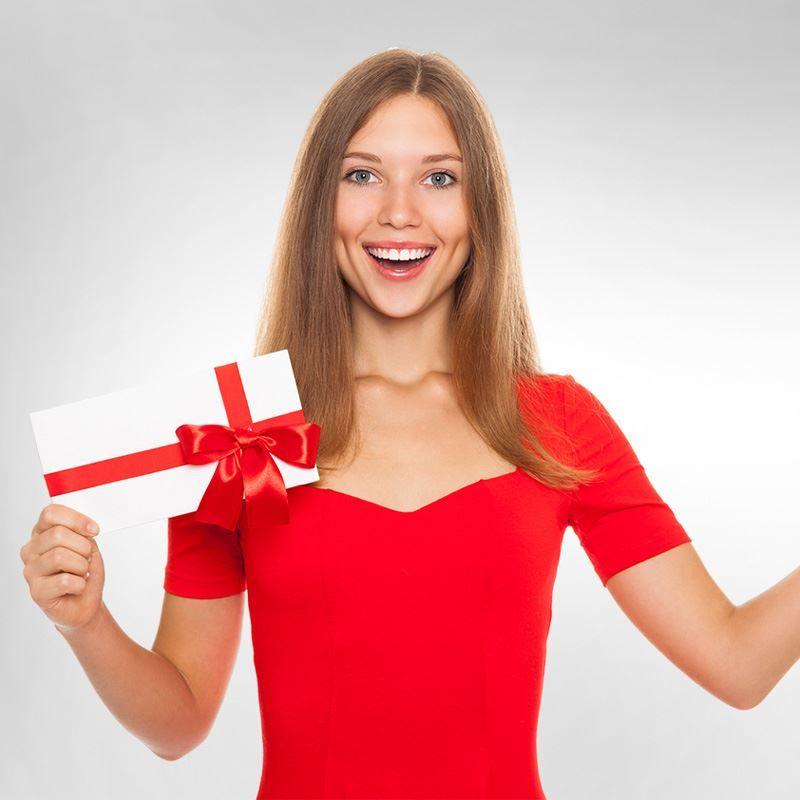 Идея подарка - «Сертификат на покупку косметики»