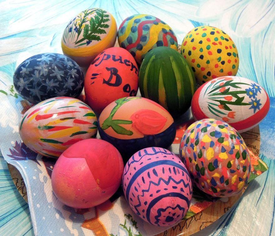 Как красиво покрасить яйца на пасху? Идеи раскрасок