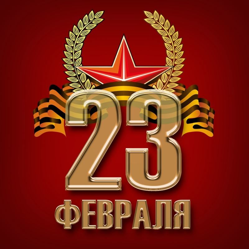 В феврале праздник - день защитника Отечества
