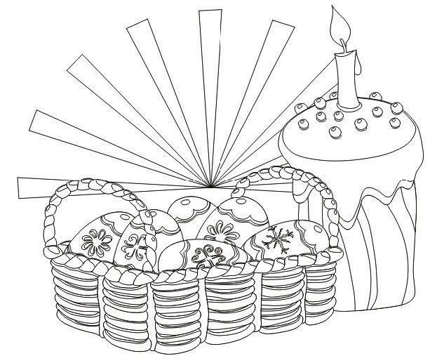 Нарисовать рисунок на тему пасха