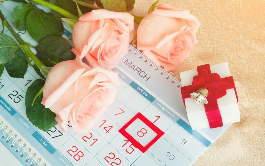С праздником женским днем 8 марта