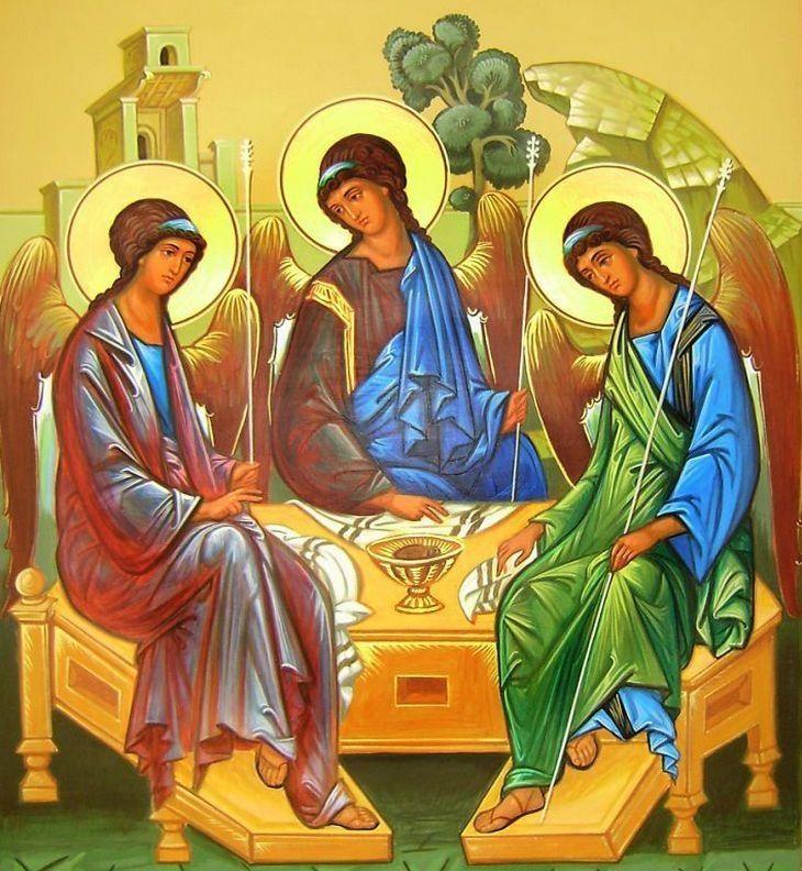 Церковные праздники после пасхи 2019 - 16 июня День Святой Троицы