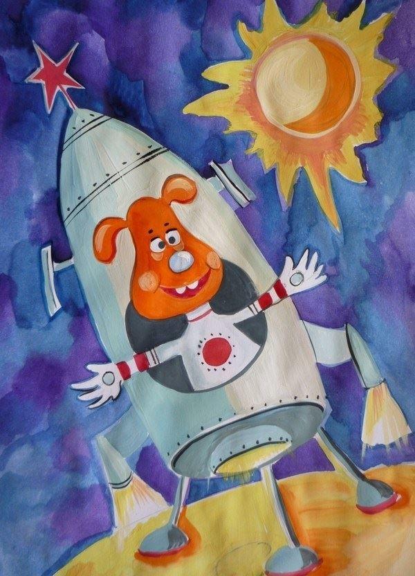 12 апреля день космонавтики детям, красивые рисунки