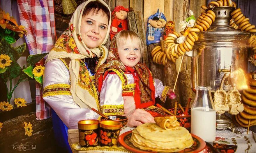 Детские фото Масленицы