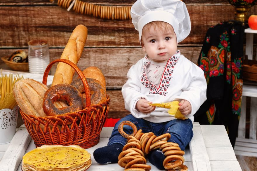 Фото Масленица, дети