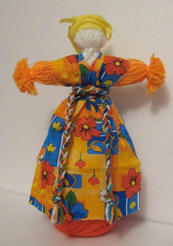 Как сделать куклу масленицу своими руками