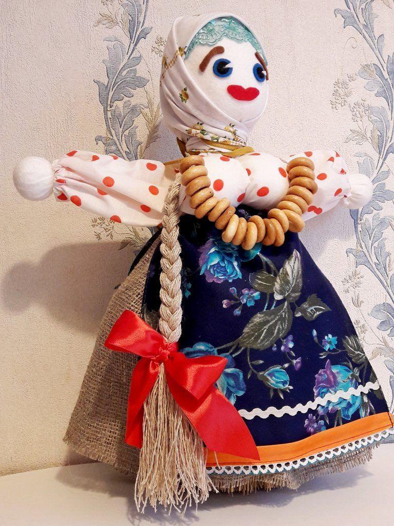Обрядовая кукла масленица, своими руками