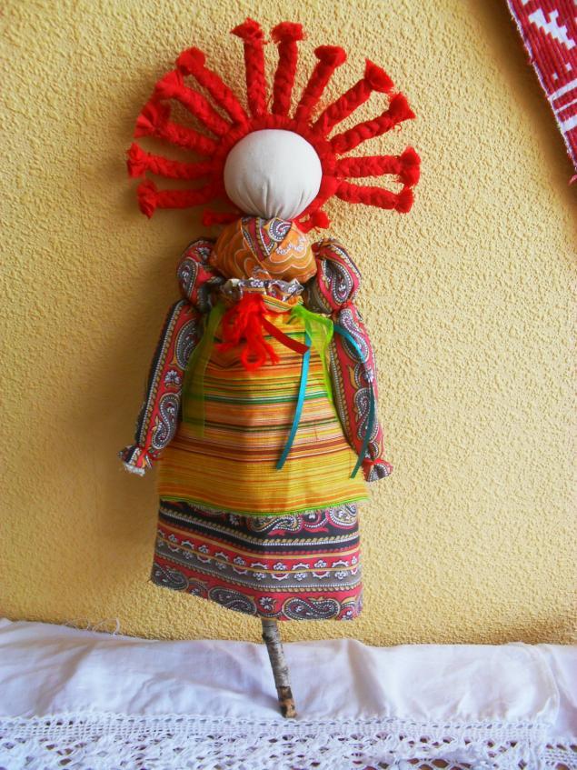 Кукла домашняя масленица
