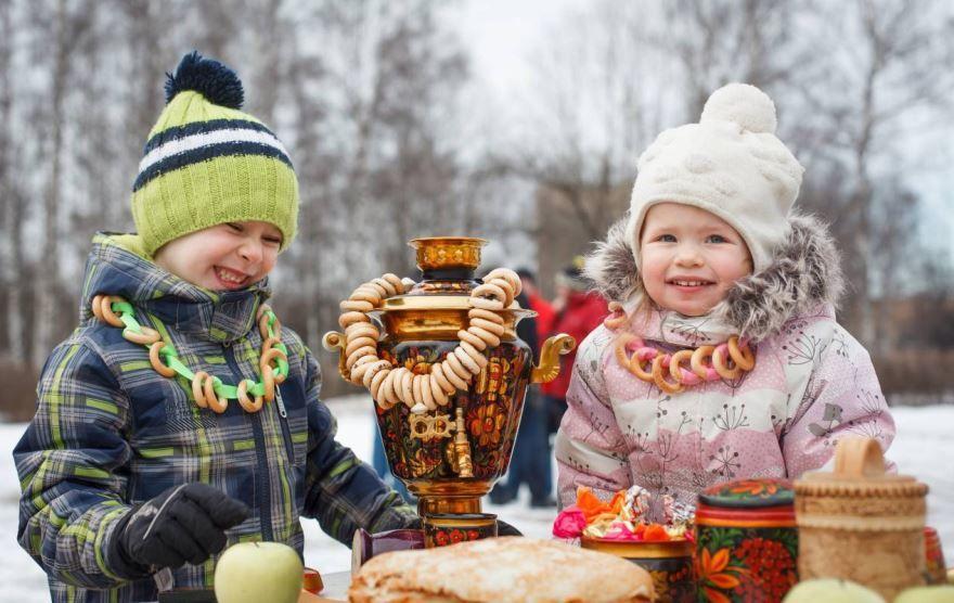 Празднование масленицы в России