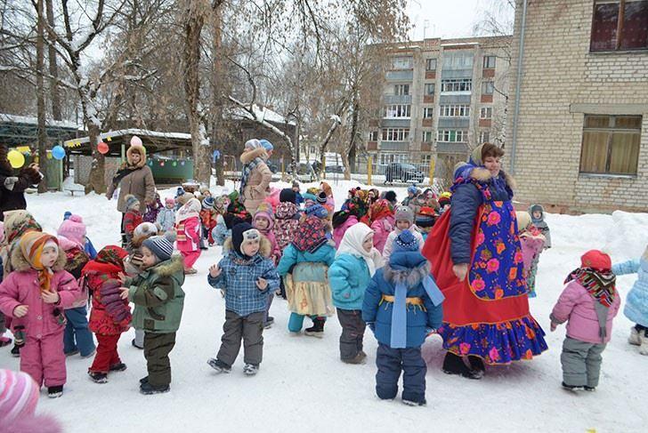 Масленица в младшей группе детского сада