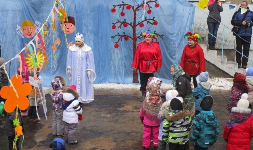 Масленица в детском саду, фото