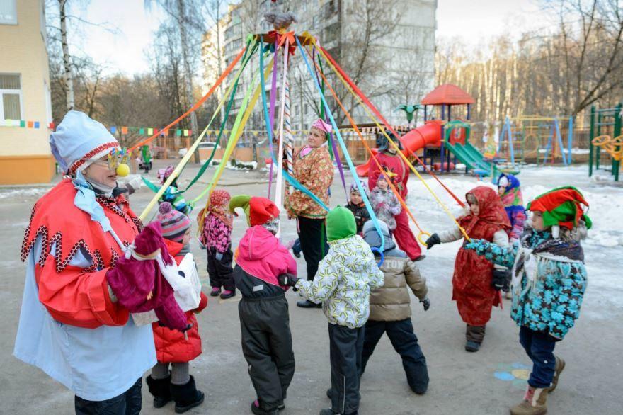 Развлечение масленица в детском саду