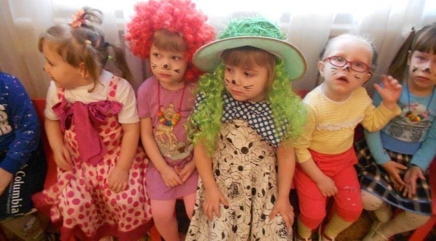 1 апреля, день смеха - дети
