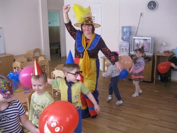 Праздник день смеха в детском саду