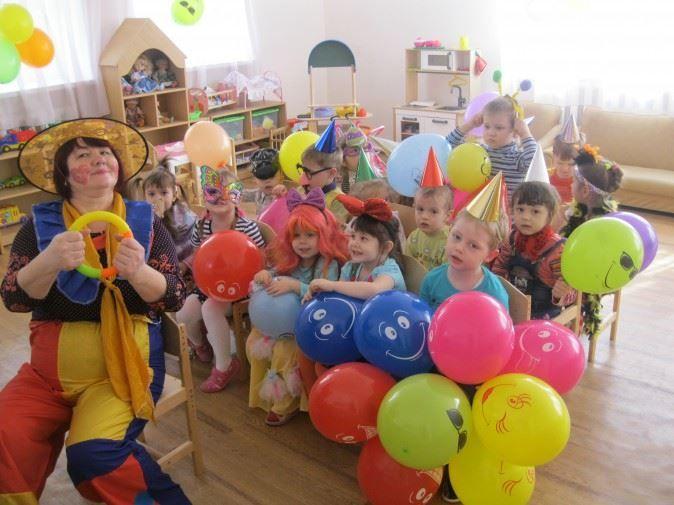 День юмора и смеха в детском саду, игры для детей
