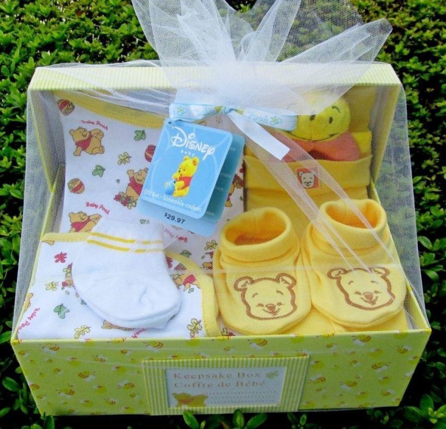 Идея подарка - набор для новорожденного