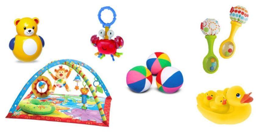 Подарок на рождение ребенка - игрушки для ребенка