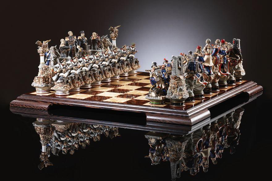 Подарки на день рождения мужчине - шахматы ручной работы