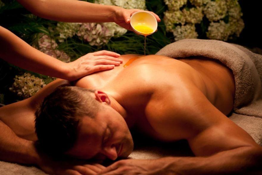 Подарки на день рождения мужчине - массаж