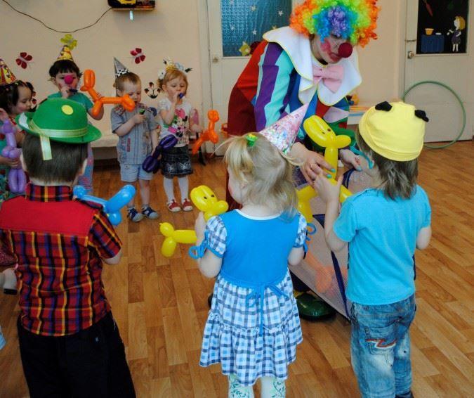 Развлечение день смеха в детском саду