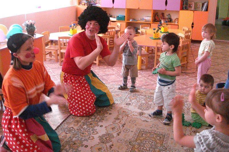 День смеха в группе детского сада