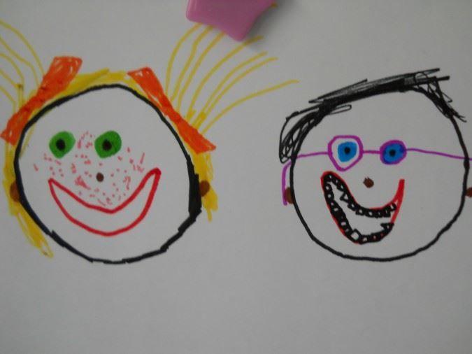 Прикольные детские рисунки на день смеха