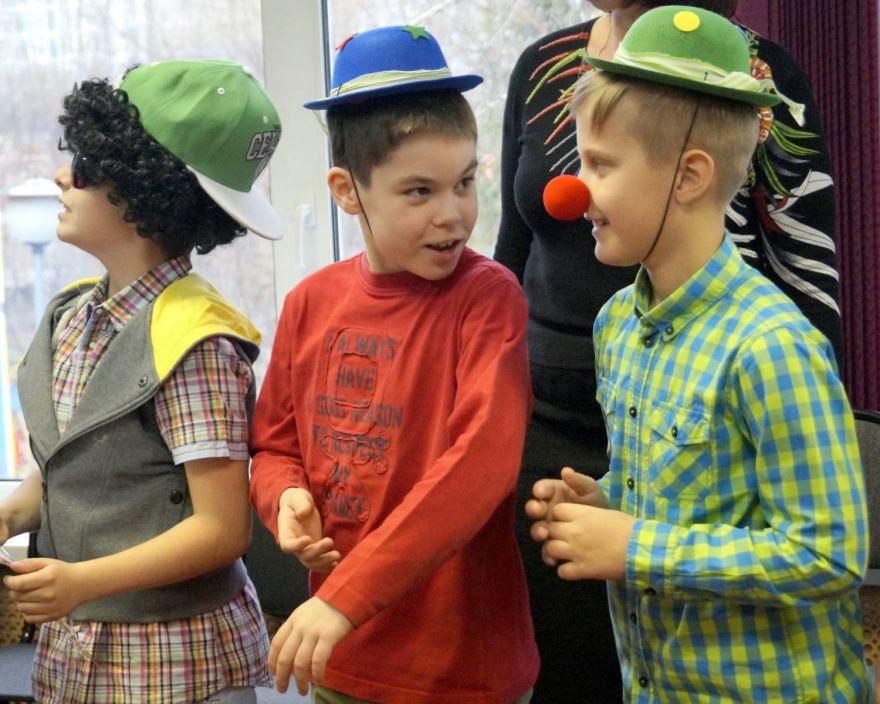 День смеха начальная школа