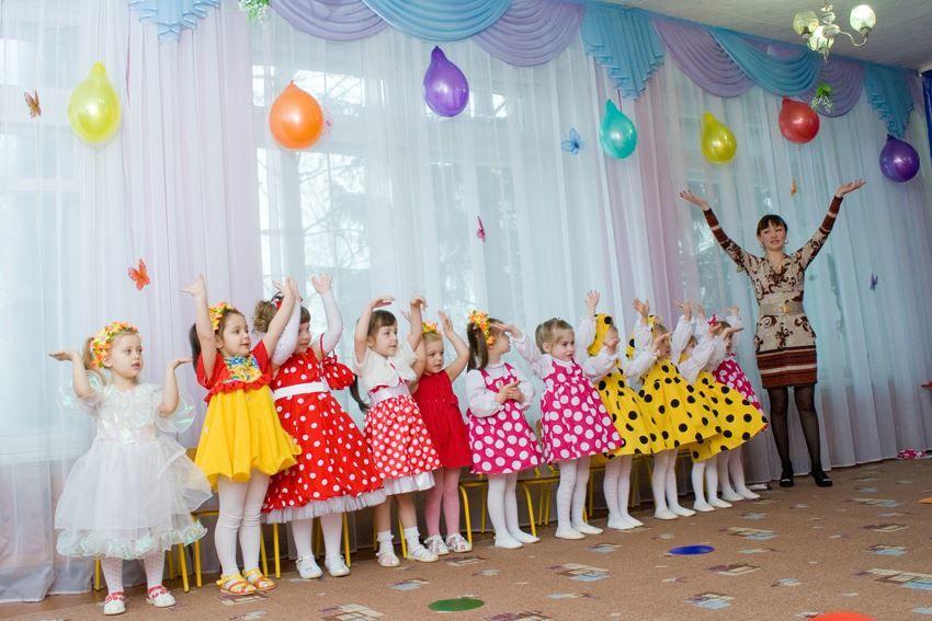 8 Марта детский сад, старшая группа