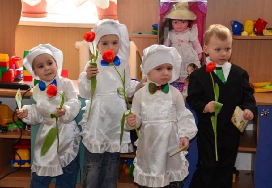 Детский сад средняя группа - 8 Марта