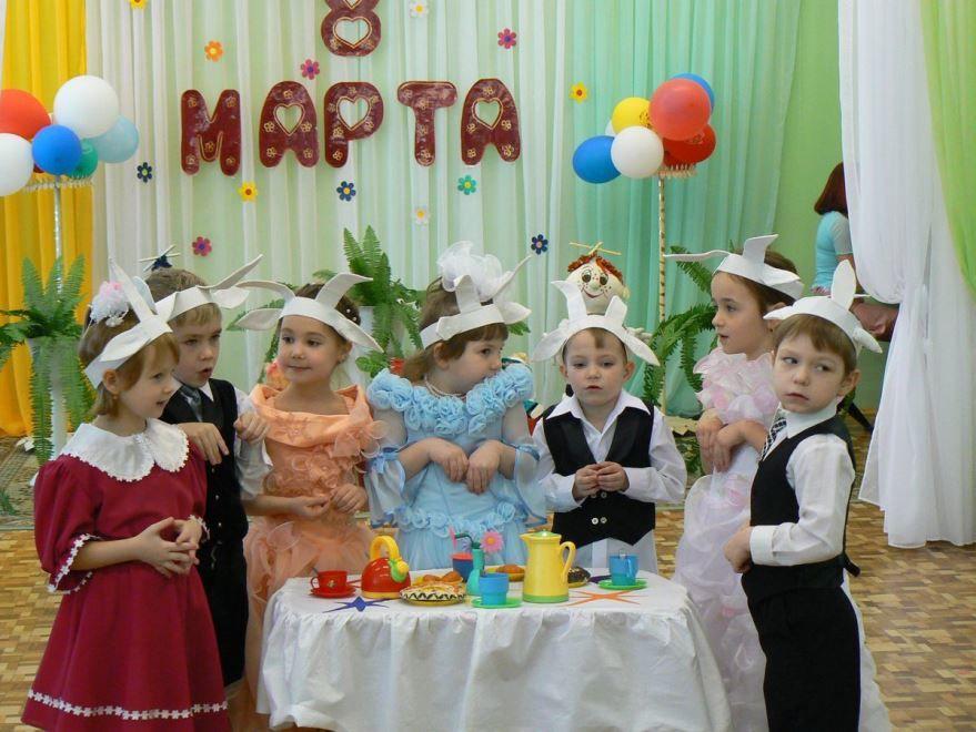 Поздравления детские к 8 Марта