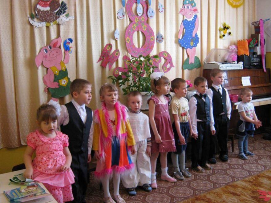 8 Марта в детском саду, утренник