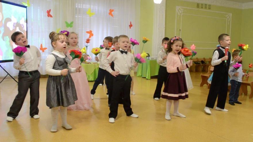 Детские праздники 8 Марта в детском саду